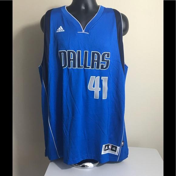 online store 05510 c02a5 adidas NBA Dirk Nowitzki Swingman Jersey